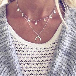 DIVIT ✶ Double Layer Necklace ✶